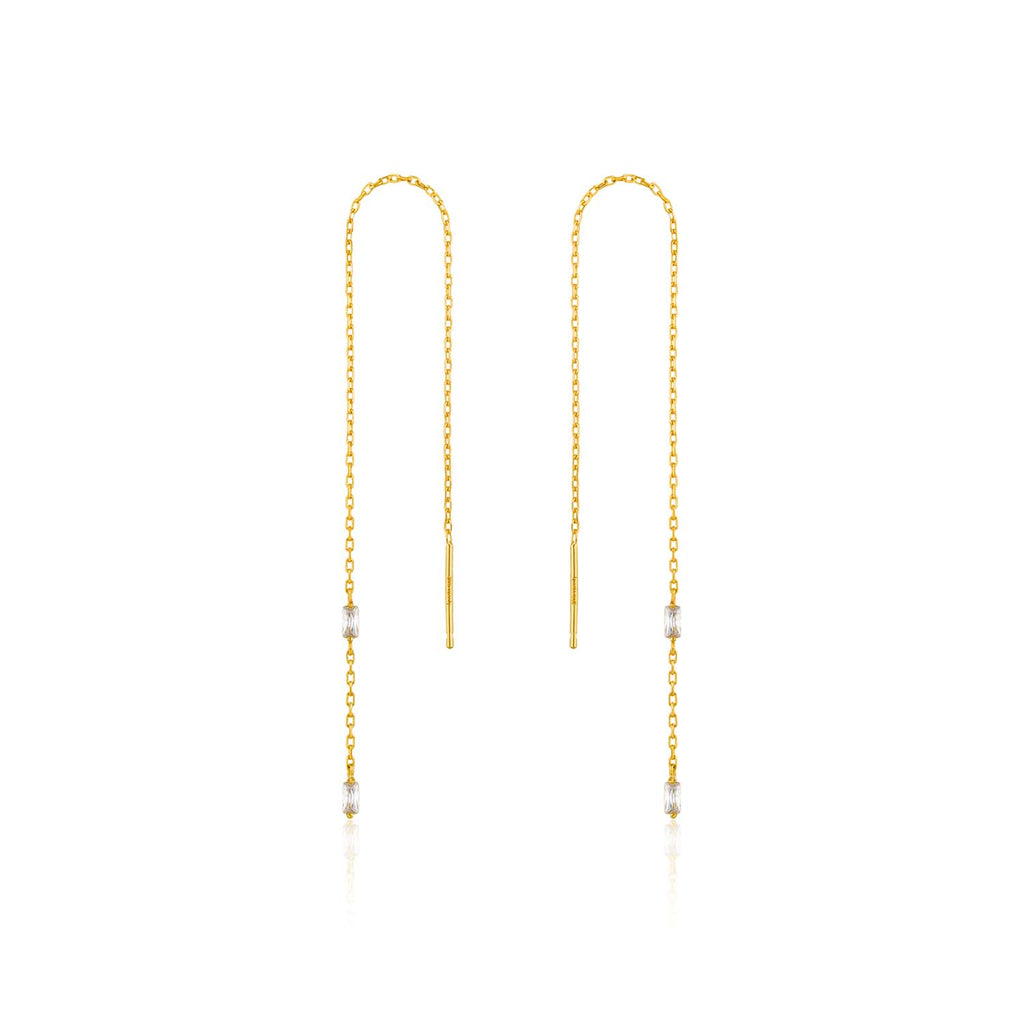 Glow Threader Earrings - Ania Haie Jewellery