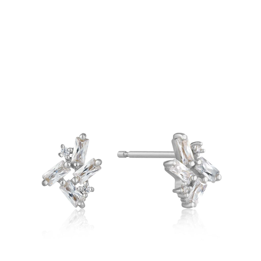 Cluster Stud Earrings - Ania Haie Jewellery