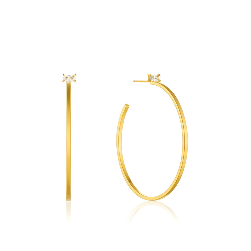 Glow Hoop Earrings - Ania Haie Jewellery
