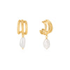 Gold Triple Mini Hoop Earrings | Ania Haie Jewellery Australia