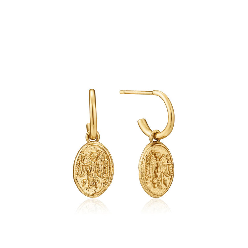 Nika Mini Hoop Earrings - Ania Haie Jewellery