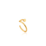 Gold Dot Ear Cuff