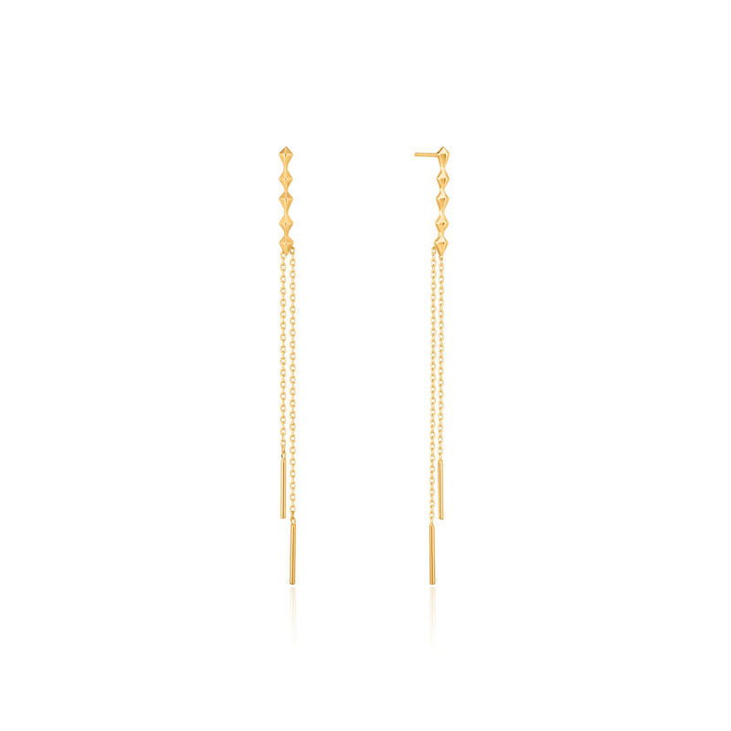 Shop the Look: Glamourous Gold Earring Stack