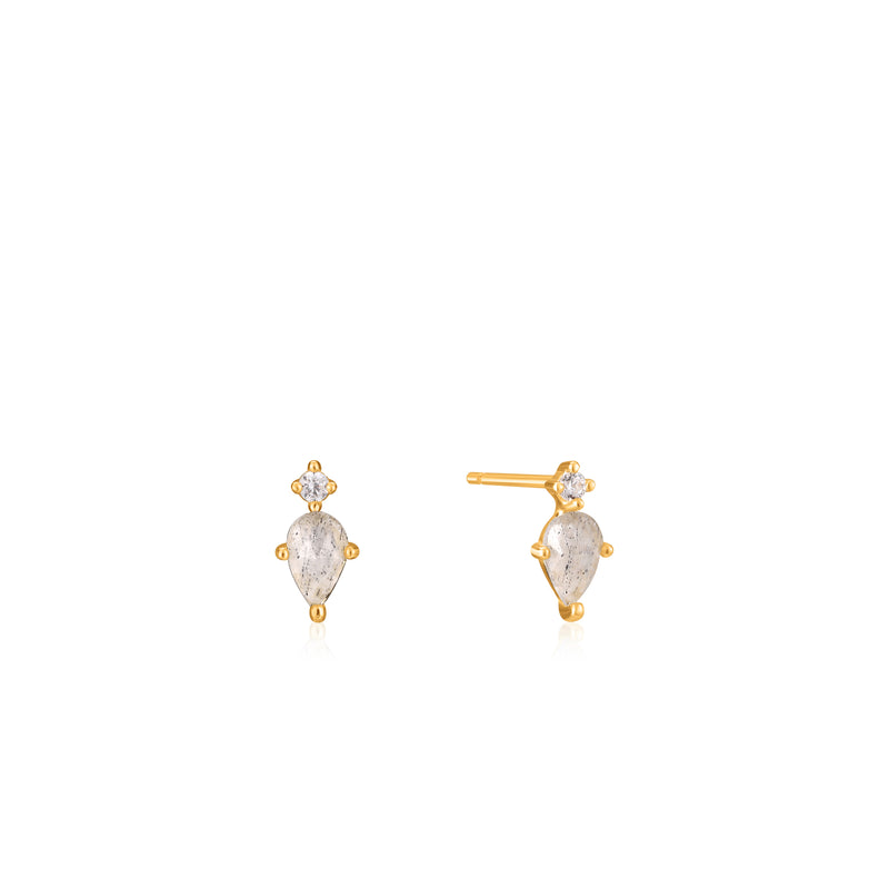 Midnight Stud Earrings by Ania Haie
