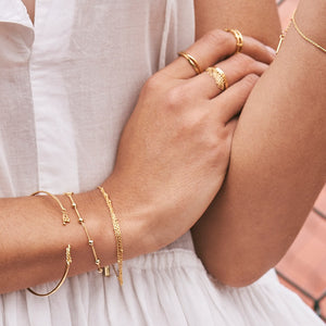 Tassel Drop Bangle - Ania Haie Jewellery