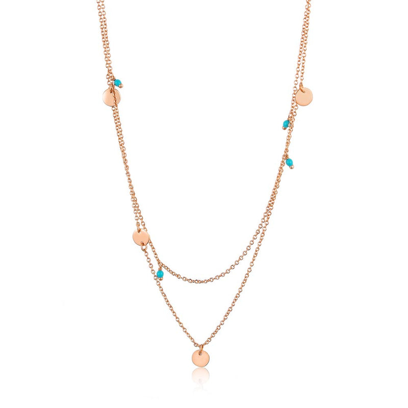 Dotted Double Necklace - Ania Haie Jewellery