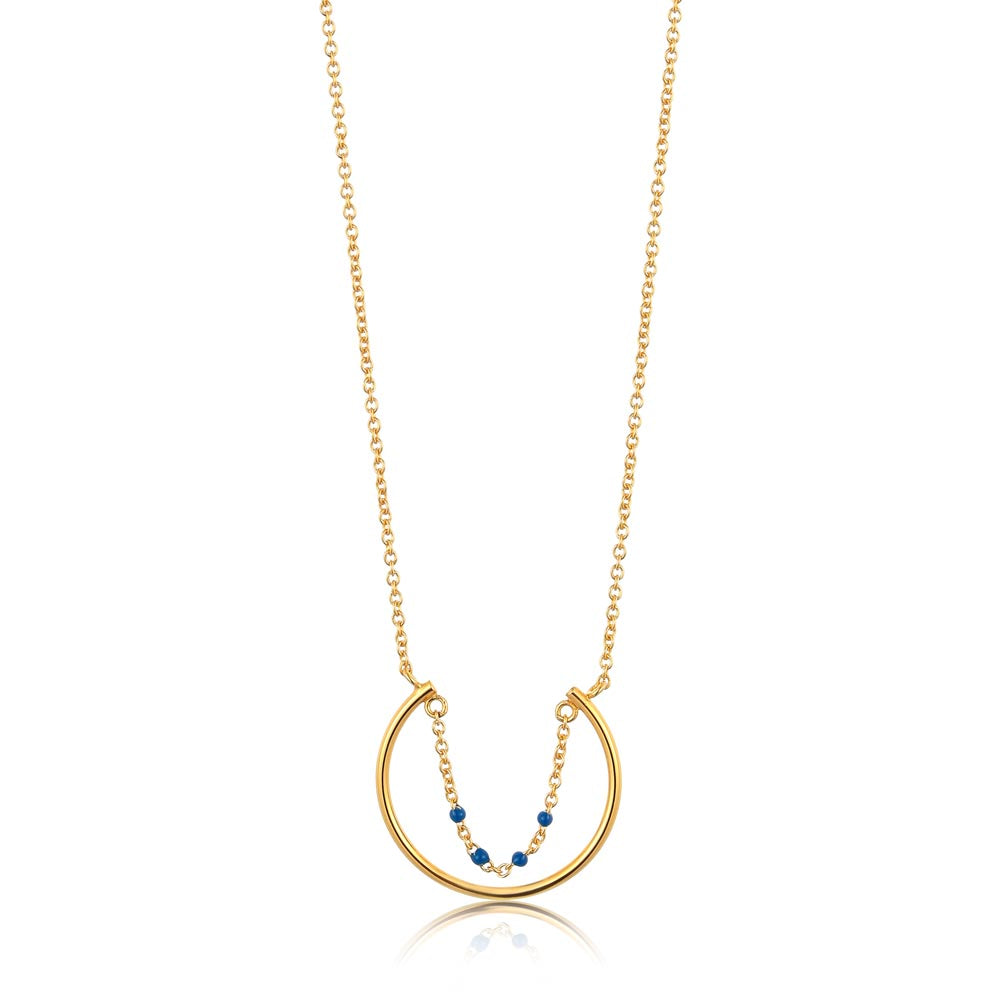 Dotted Circle Necklace - Ania Haie Jewellery
