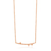 Necklace: Texture Solid Bar Necklace by Ania Haie Australia