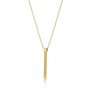 Tassel Drop Necklace - Ania Haie Jewellery