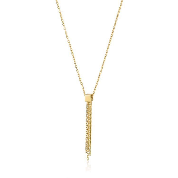 Necklace: Tassel Drop Necklace by Ania Haie Australia