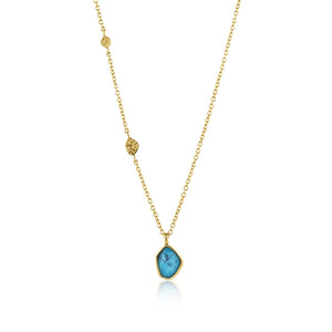 Turquoise Pendant Necklace - Ania Haie Jewellery