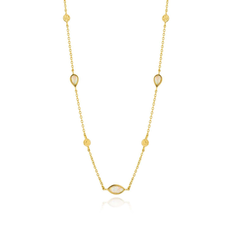 Shop the Look: Relaxed Gold Necklace Combo