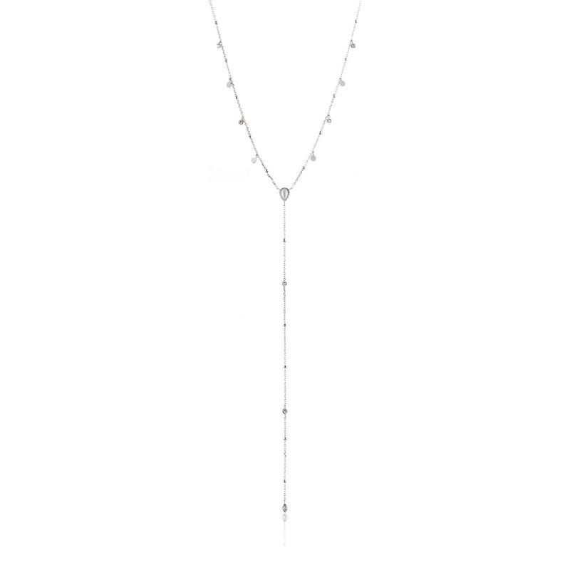 Necklace: Silver Dream Y Necklace by Ania Haie Australia