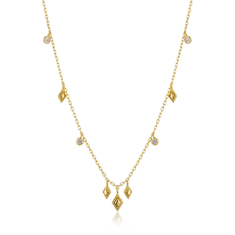 Necklace: Gold Bohemia Necklace by Ania Haie Australia