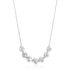 Necklace: Silver Crush Multiple Discs Necklace by Ania Haie Australia