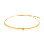 Necklace: Gold Cluster Choker by Ania Haie Australia