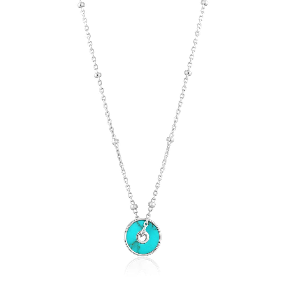 Turquoise Disc Necklace - Ania Haie Jewellery