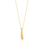 Necklace: Gold Luxe Drop Necklace by Ania Haie Australia