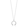 Necklace: Silver Luxe Curve Necklace by Ania Haie Australia
