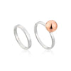 Orbit Double Ring Set - Ania Haie Jewellery