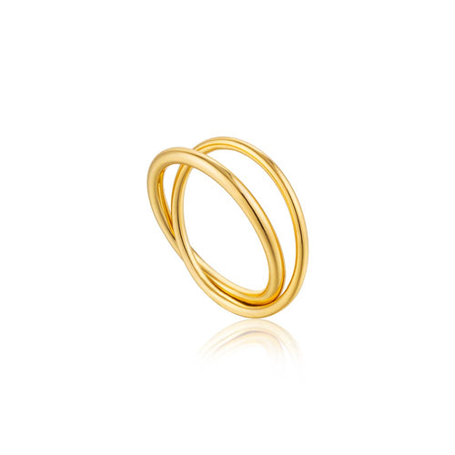 Ring: Modern Double Wrap Ring by Ania Haie Australia