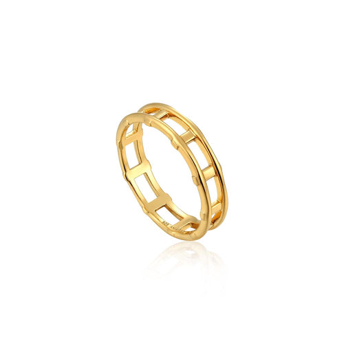 Ring: Modern Bar Ring by Ania Haie Australia