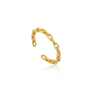 Chain Adjustable Ring - Ania Haie Jewellery