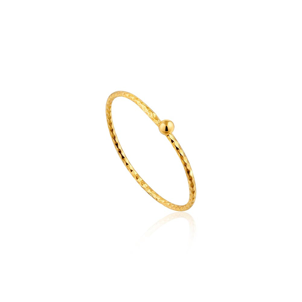 Texture Small Ball Ring - Ania Haie Jewellery