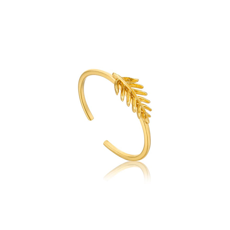 Small Palm Adjustable Ring - Ania Haie Jewellery