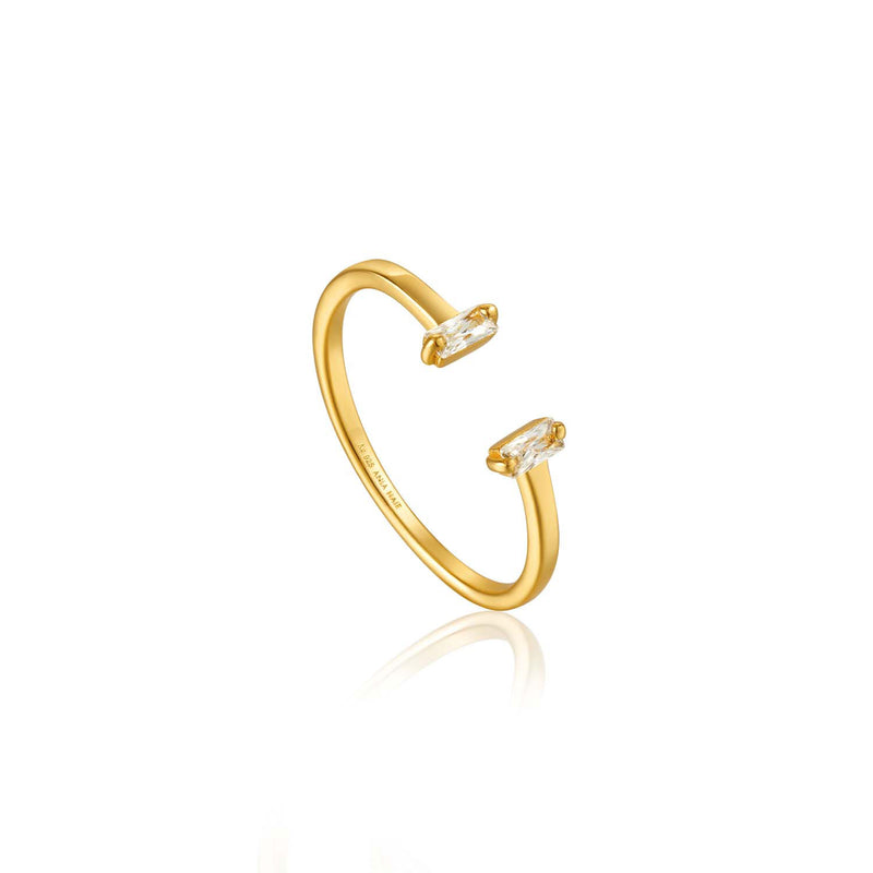 Glow Adjustable Ring - Ania Haie Jewellery