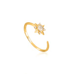 Midnight Star Adjustable Ring by Ania Haie