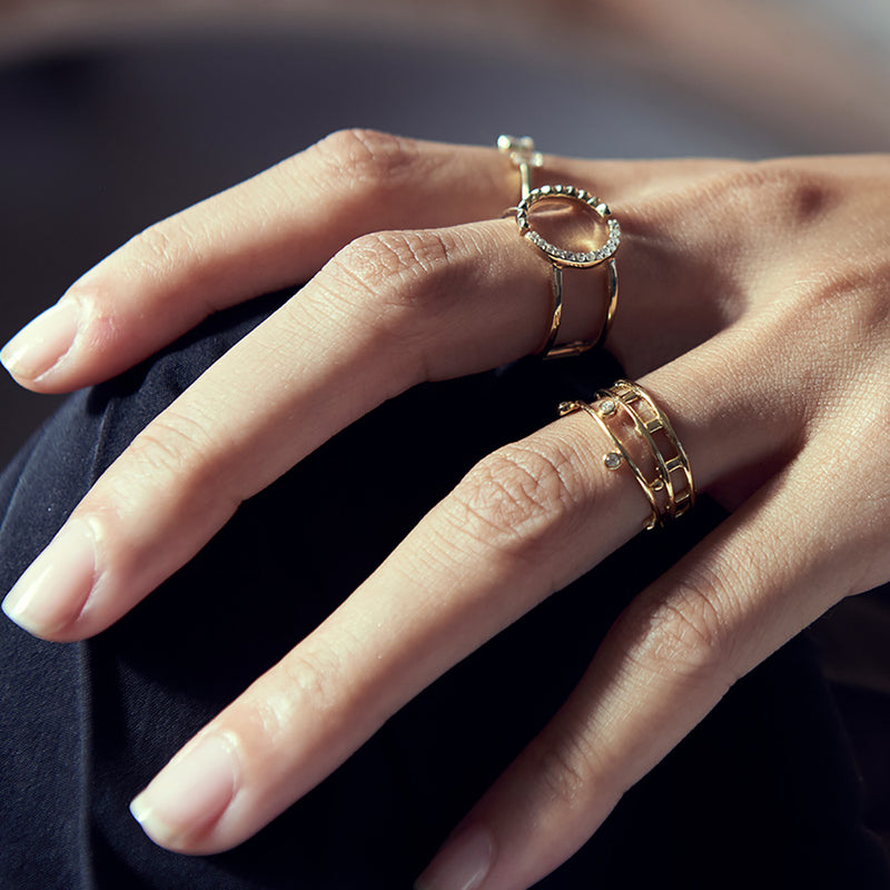 Shop the Look: Simply Stylish Rings