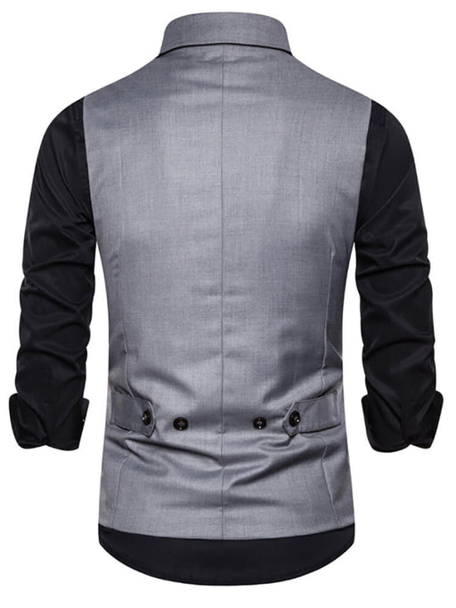 Mens Slim Fit Tank Top Business Suits Vest