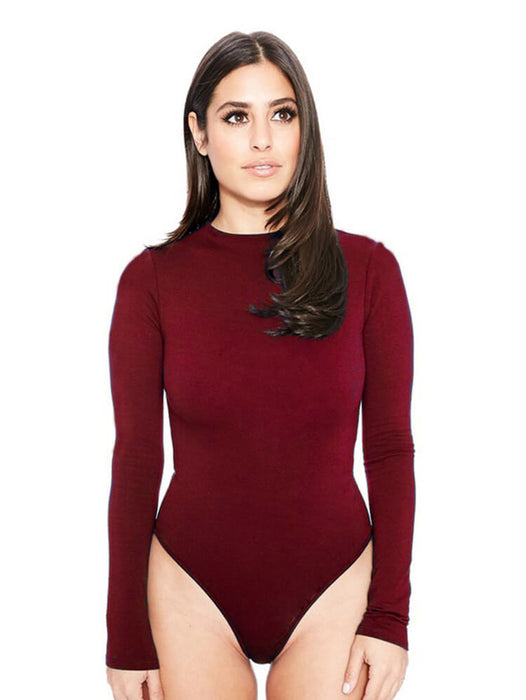 Sexy Stretchy Bodysuit Leoted Tops Rompers