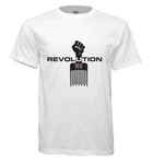 Short Sleeve REVOLUTION T-shirt - White