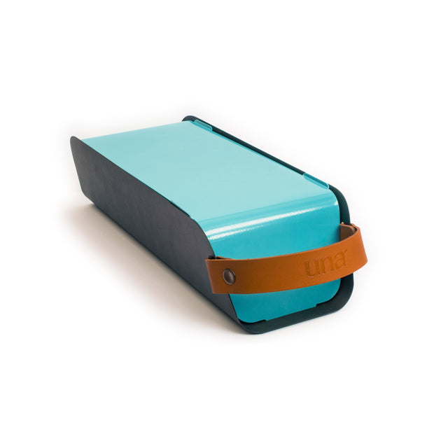 UNA Portable Table-top Charcoal Grill - Pastel Blue