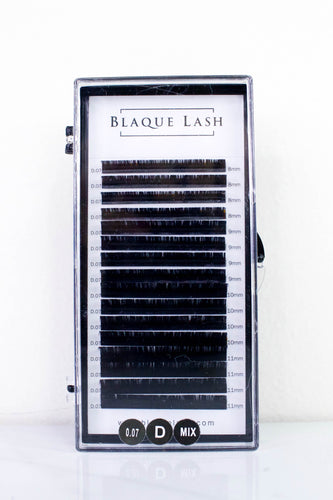 Black Synthetic Volume Lash Eyelash Extensions Tray