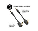 Audio Cable 3.5mm Aux Cable Male to Male Extension Cable 3-pole 4-pole