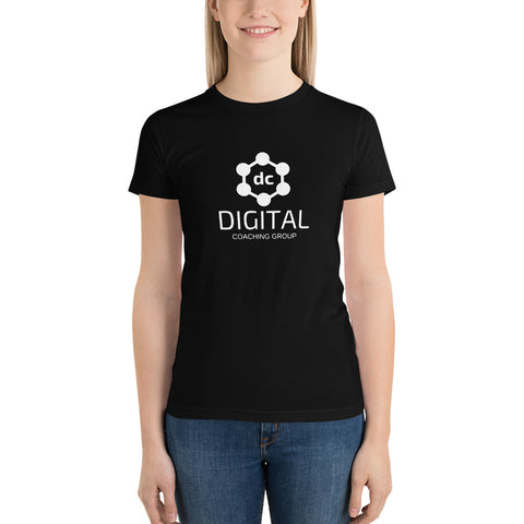 T-Shirt Negra (Mujer) - Digital Coaching Group - Digital Coaching Group