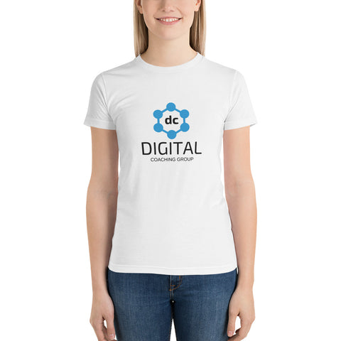 T-Shirt Blanca (Mujer) - Digital Coaching Group - Digital Coaching Group