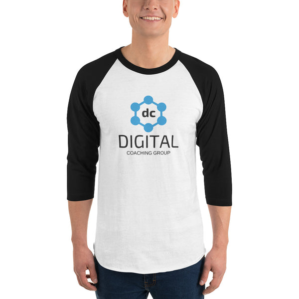 Camisa de manga 3/4 (Hombre) - Digital Coaching Group - Digital Coaching Group