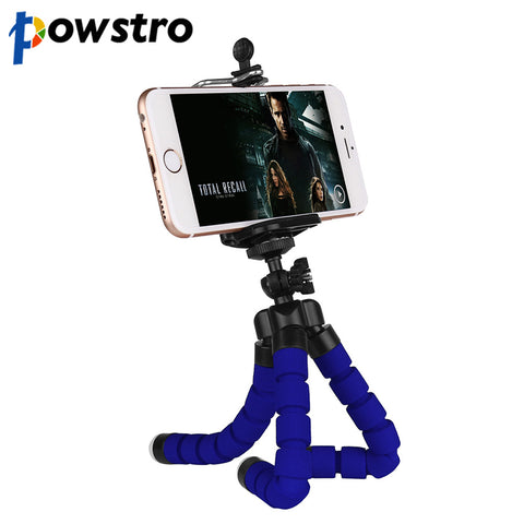 Powstro Mini Flexible Octopus Tripod Camera Phone Tripod