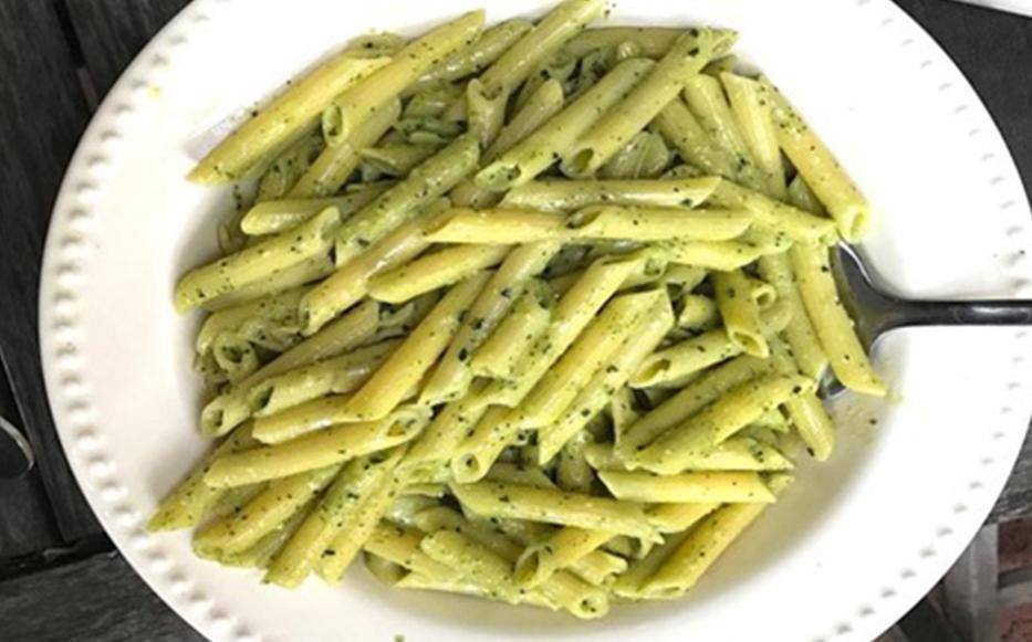 KALE PESTO PASTA — A Pasta Recipe Everyone Can Enjoy!