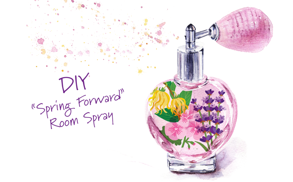 "DIY ""Spring Forward"" Room Spray"