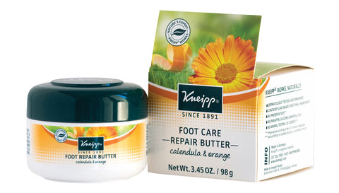 Kneipp Calendula & Orange Foot Repair Butter 3.45 Oz.