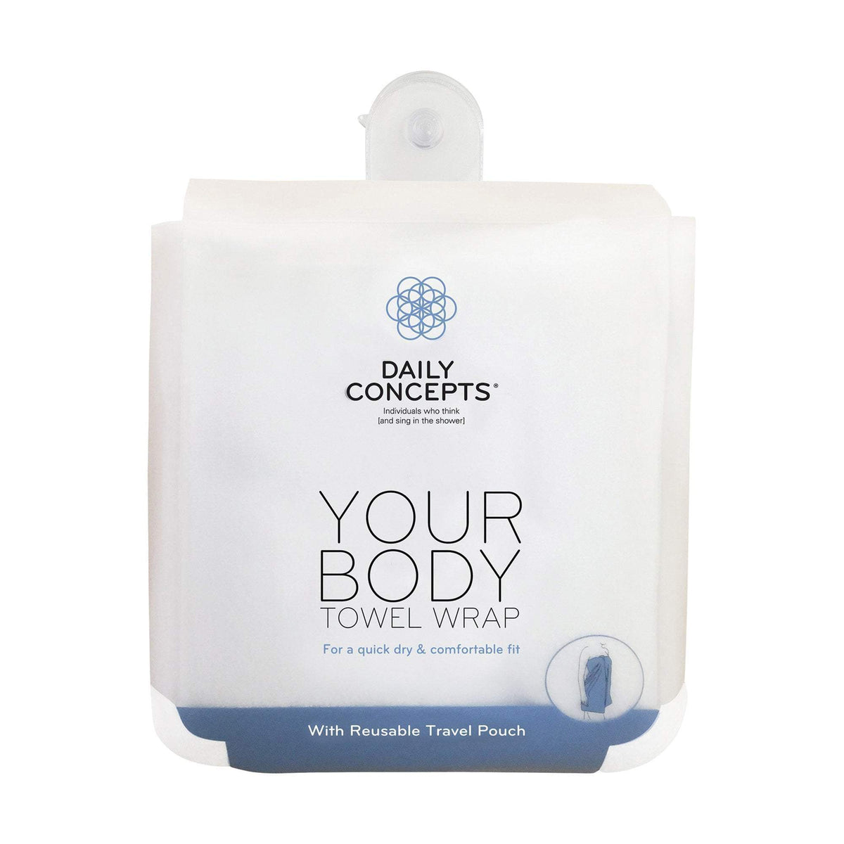 Daily Concepts Daily Body Towel Wrap