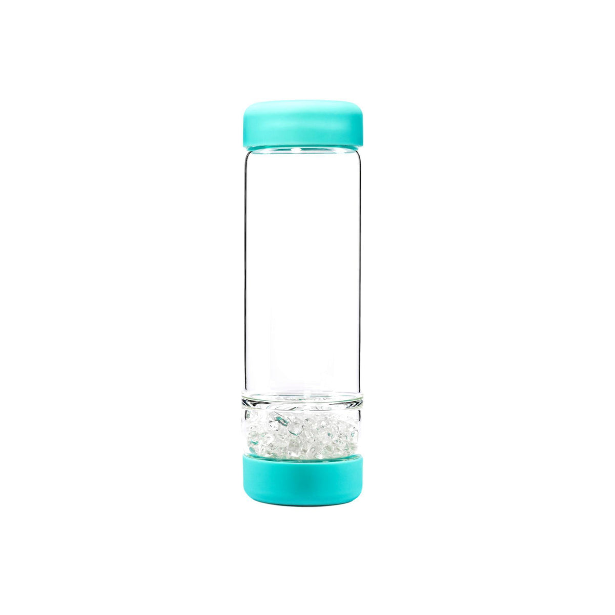 VitaJuwel INU! Crystal Bottle, Ocean Blue