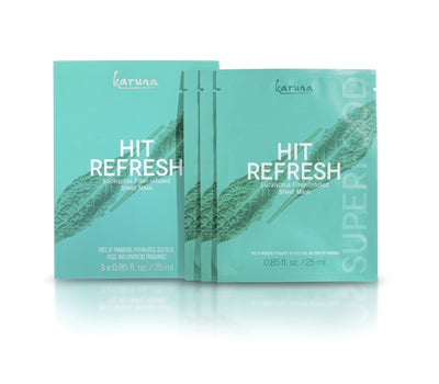 Karuna Hit Refresh Face Mask, 3 pk