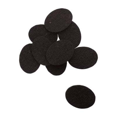 Serina & Company Oval Replacement Pads, Black