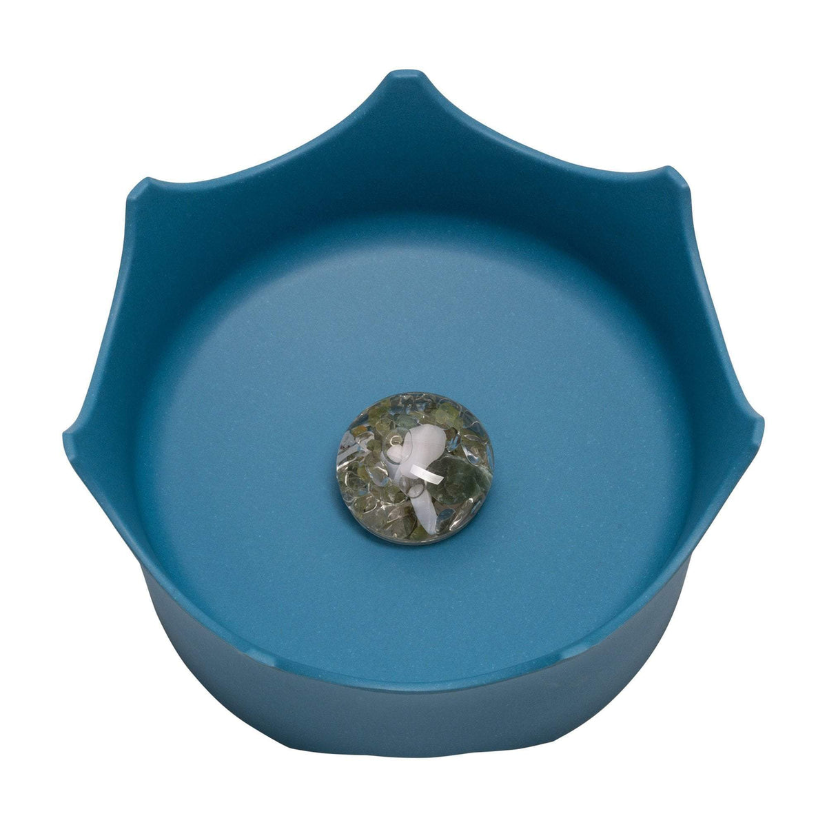 VitaJuwel CrownJuwel Pet Bowl, Ocean Blue